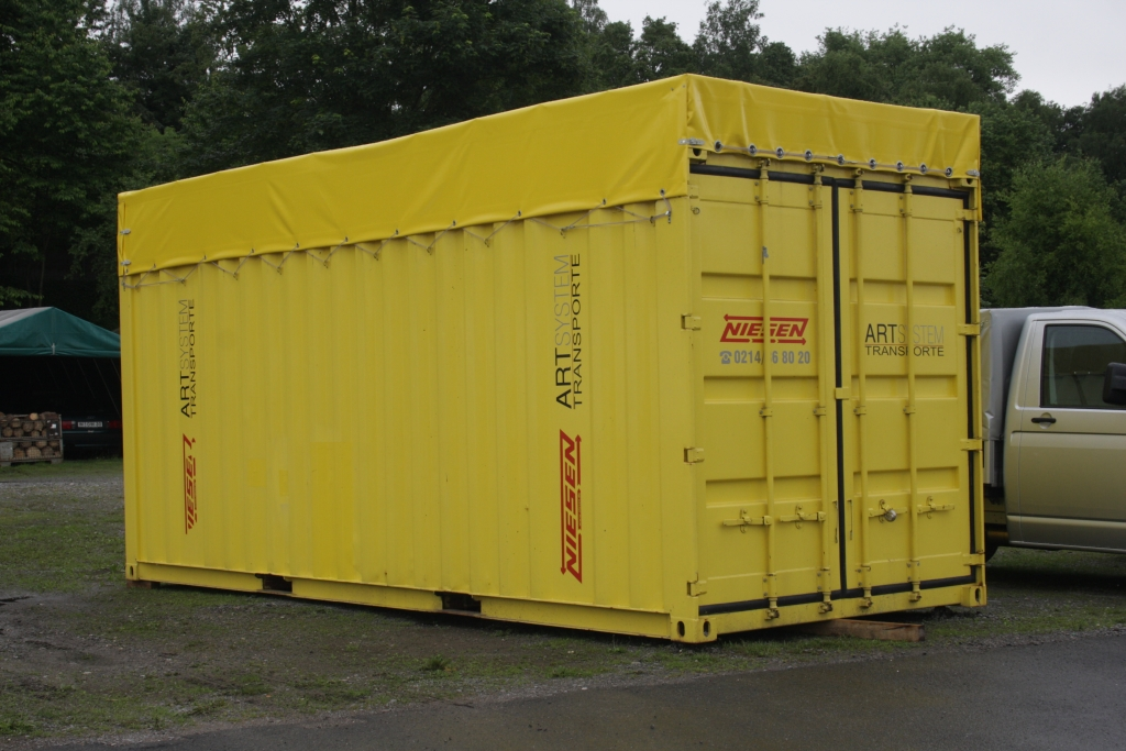 Dachplane für Möbelcontainer